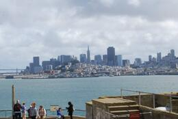 San Francisco in the distance - so close yet so far away!, Sam B! - April 2014