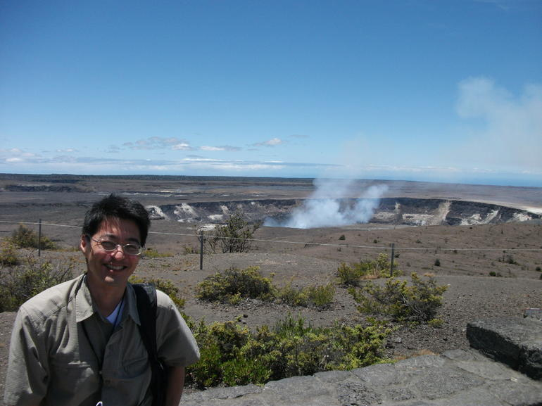 Aloha from Kilauea! - Big Island of Hawaii