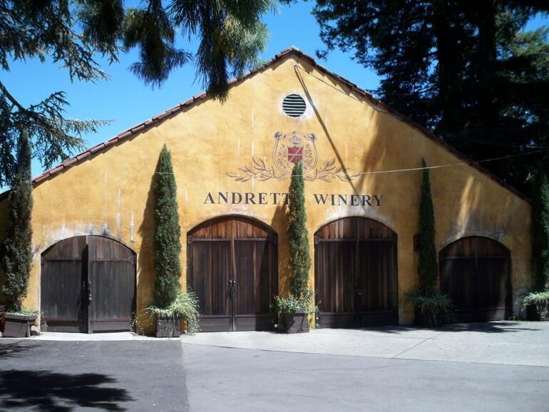 Andretti Winery - Napa & Sonoma