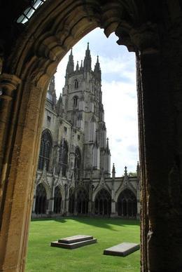 Canterbury Cathedral , Lisa - July 2012