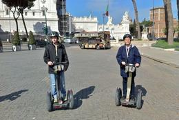 Two happy Segway riders in Rome. , Per K - April 2012