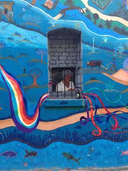 Mural next to Vesuvio Cafe- Jack Kerouac's favorite haunt!, Michelle W - May 2014
