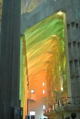Tour of the Sagrada Familia - Interior , Kristine P - September 2015