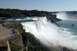 View of Niagara Falls, Jules & Brock - July 2012
