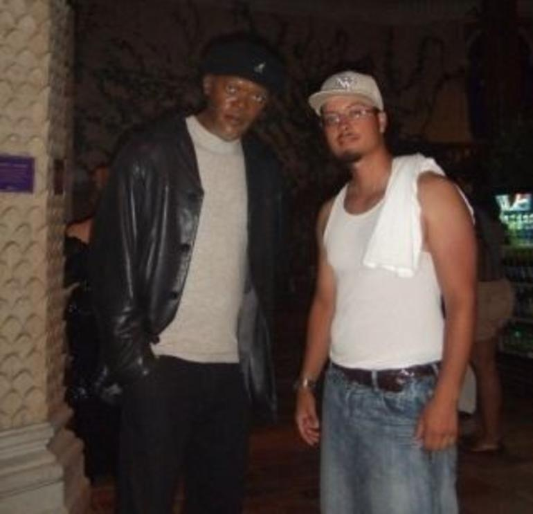 Me and Samuel L. Jackson - New York City