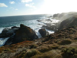 Rugged coastline , Chris S - March 2013