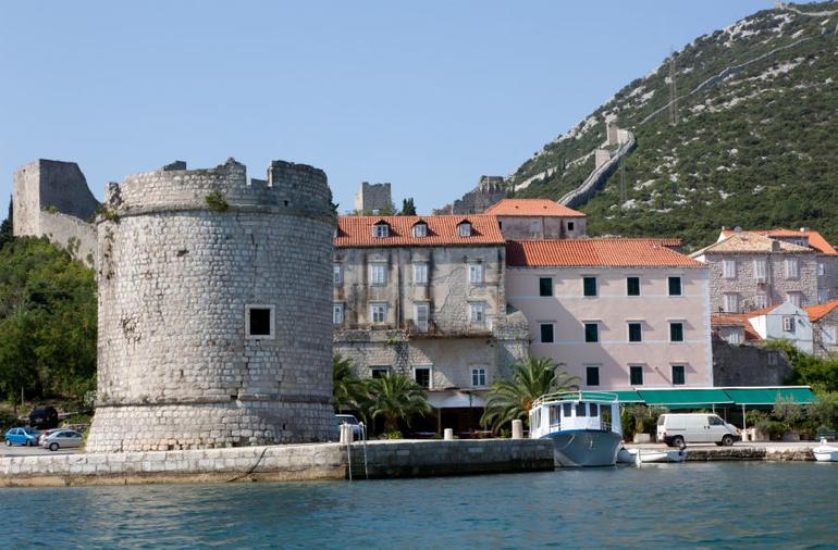 Small Medieval Town Near Ston in Dalmatia - Dubrovnik