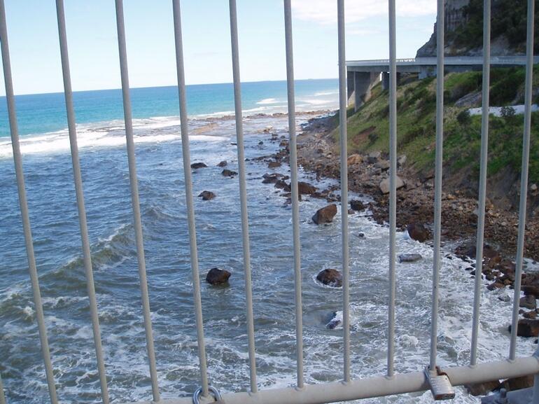 View from Sea Cliff Bridge -