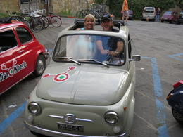 Kevin and Trish in Tuscany , Kevin M - July 2014
