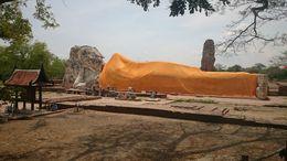 Buddha sdraiato, 37mt di lunghezza per 8 di altezza , lorenzo b - June 2016