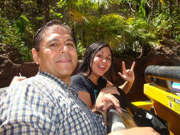 Jurassic Park Ride was so fun and very wet , CHERYL S - September 2012