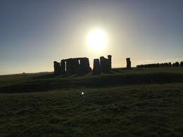 One of the many views I could get in Stonehenge , Nico P - January 2017