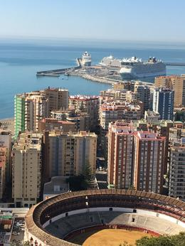 What a view of Malaga! , Ronald C - May 2017
