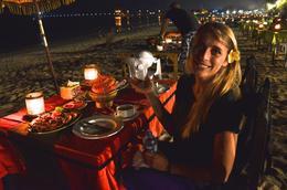 Dinner on the beach! , Susan P - June 2017