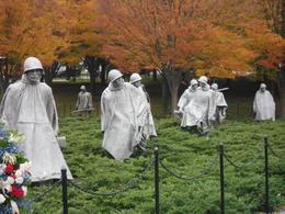 Korean Memorial in autumn., Cheri B - November 2010