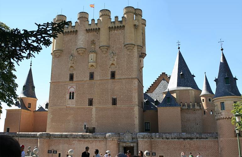 Alcazar de Segovia - Madrid