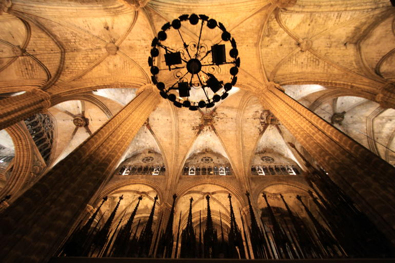 Barcelo, Spain La Cathedral - Barcelona