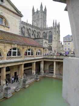 Das römische Bad mit seiner heißen Quelle. , Heidi K - May 2013