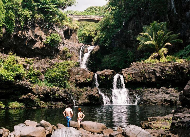 Hana waterfall, Maui - Oahu