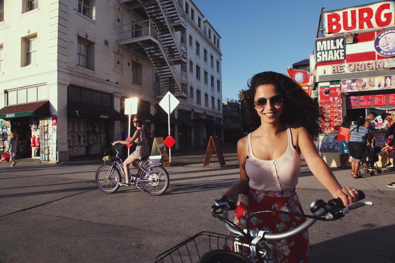 Hitting the streets of LA - Santa Monica