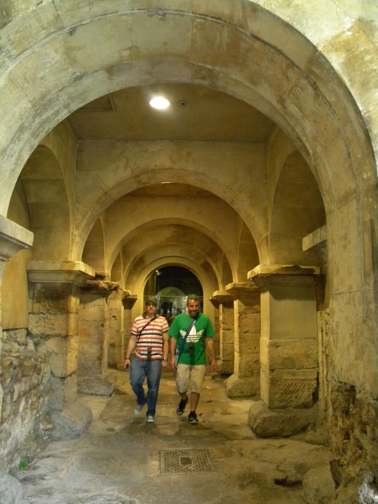 Inside the Roman Baths - London