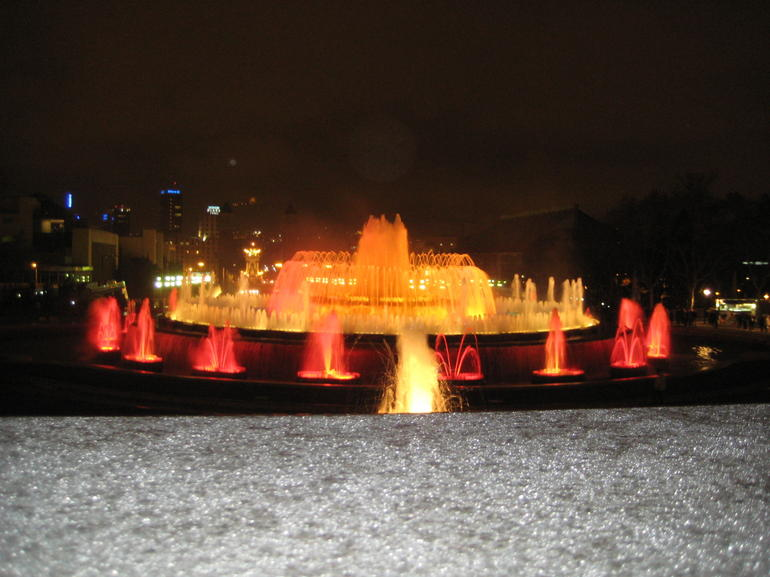 Magic Fountains 3 - Barcelona