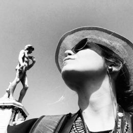 Selfie in Piazzale Michelangelo in Florence. , Eva L - August 2015