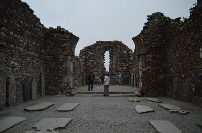 Monestary in Glendalough - Dublin