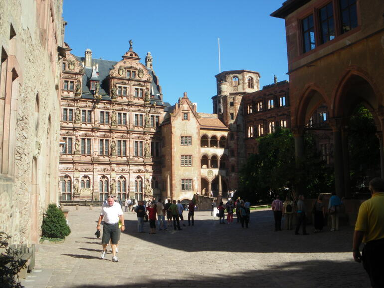 One of the castles - Frankfurt