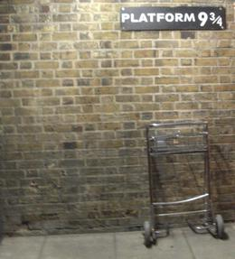 Platform 9 3/4 Kings Cross Station , Sue M - August 2011