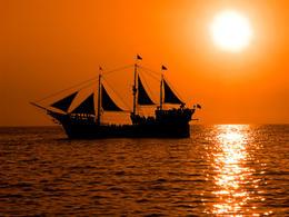 Pirate boat, La Marigalante - November 2011