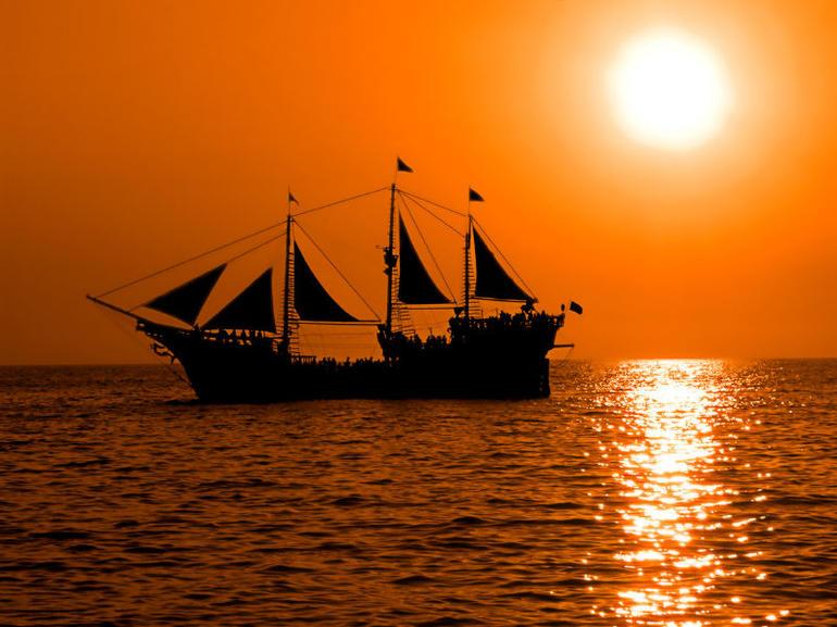 Pirate boat, La Marigalante - Puerto Vallarta