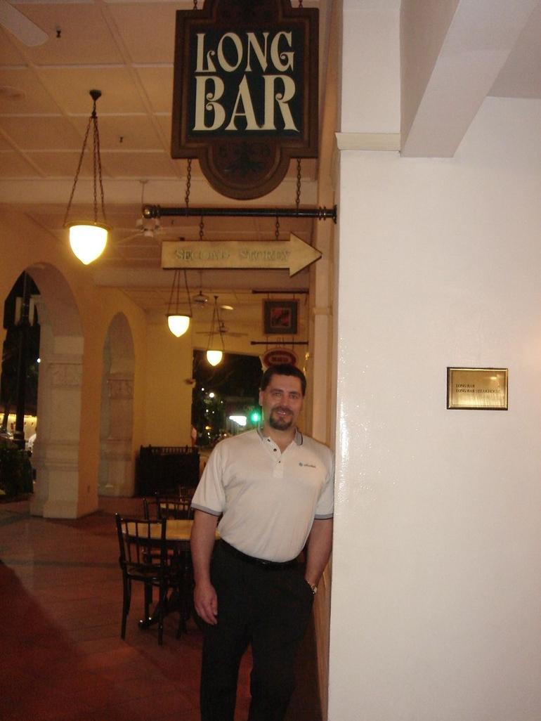 Raffles Long Bar - Singapore