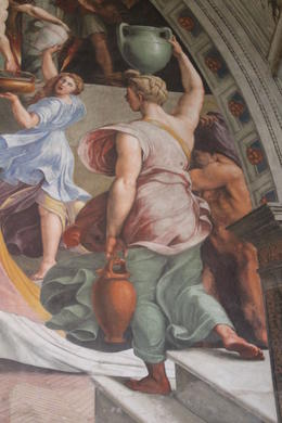 Raphael frescos detail , Lauren C - October 2014