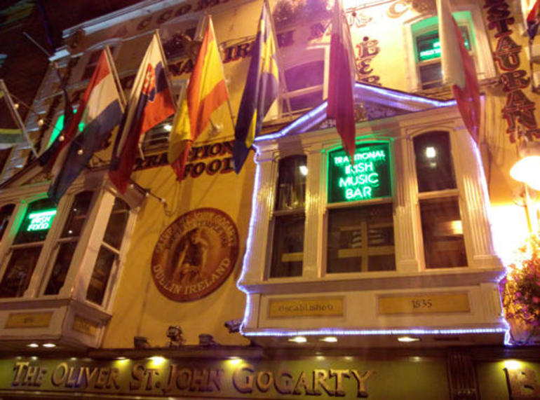 Start of the Irish Musical Pub Crawl - Dublin