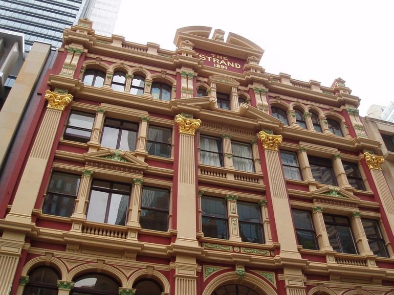Strand Arcade Facade - Sydney