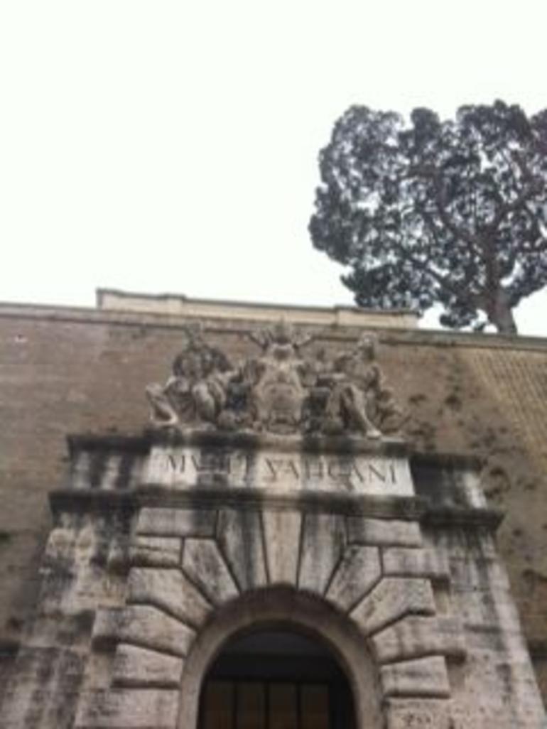 Vatican mueseum tour....minus the Sistine Chapel.....:( - Rome