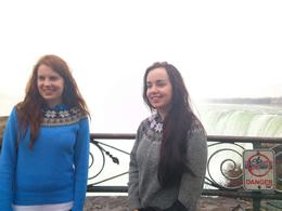 My granddaughters enjoying Niagra Falls. , Elizabeth S - April 2013