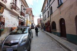 Walking through Witches Market in La Paz. Great place to pick up souvenirs and buy presents, Bandit - July 2014