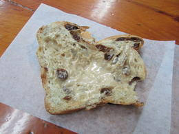 Bread with maple butter at the Chez Marie bread oven. Awesome!!! , wrhesson - December 2016