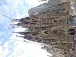 The magnificent , yet still unfinished Sagrada Familia. , Peter W - October 2017
