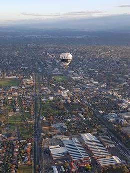 Flying over Melbourne , Mark T - December 2017