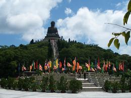 Full shot of the Giant Buddha , Tien P - June 2012