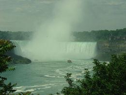 Before we got onto the Hornblower Cruise, Horseshoe Falls, Niagara Falls , Jean R - July 2015