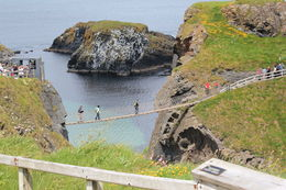 Beautiful coastline and neat experience on this bridge. , celia - July 2015