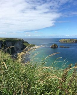 Carrick-a-Rede view , Alicia F - August 2016