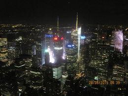 le premier soir à New York tout en haut comme à la télé , Bettina C - June 2015