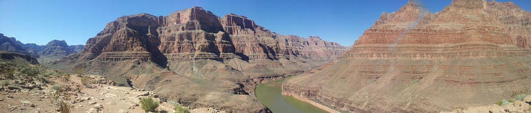 Grand Canyon panorama - Las Vegas