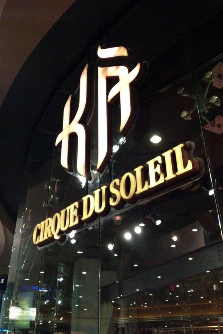 K� by Cirque du Soleil - Las Vegas