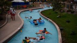 Cruise down the lazy river at Legoland Water Park in San Diego, California! - July 2011